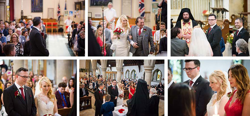 Greek Wedding Service