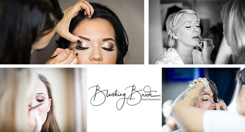Photographs Of Makeup Application